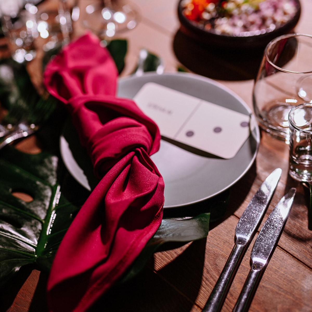 Fuchsia Color Napkin